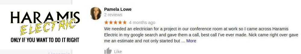 Crofton Electrician Haramis Reviews