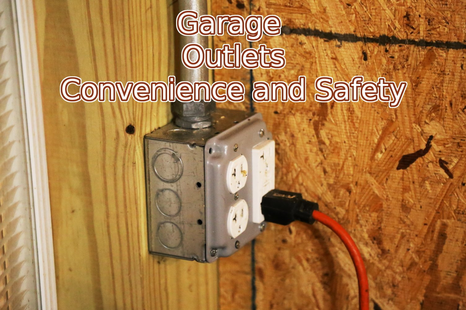 Electrician in Crofton garage outlets