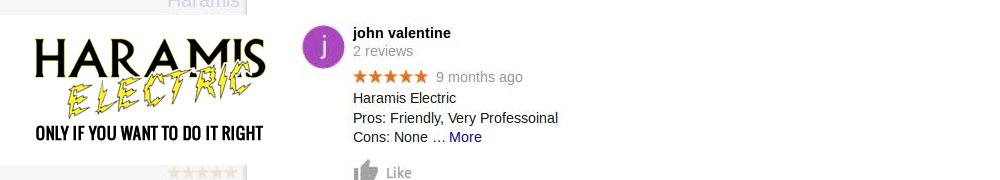 Haramis Electric Reviews Crofton MD