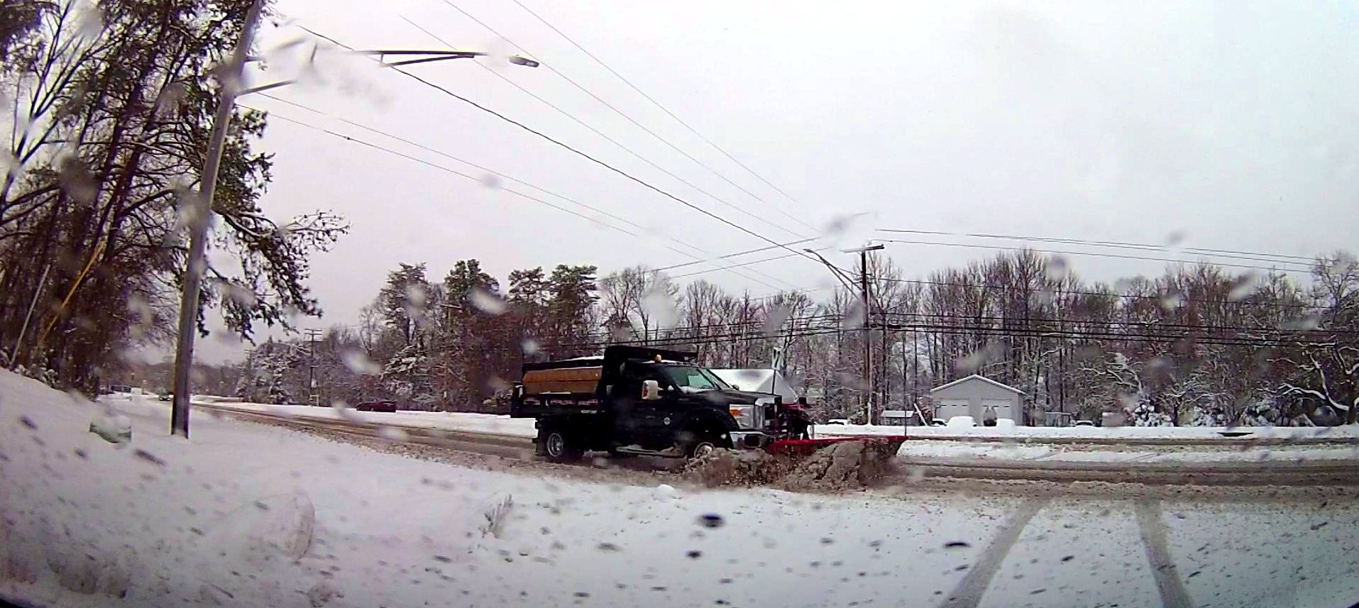 Snow Damage in Cowie and Crofton Maryland