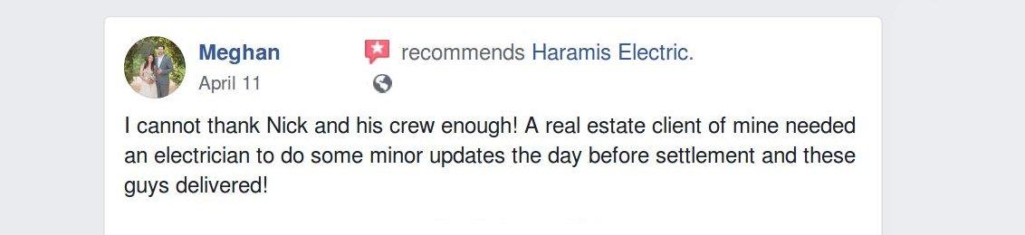 Crofton Electricians Haramis Reviews