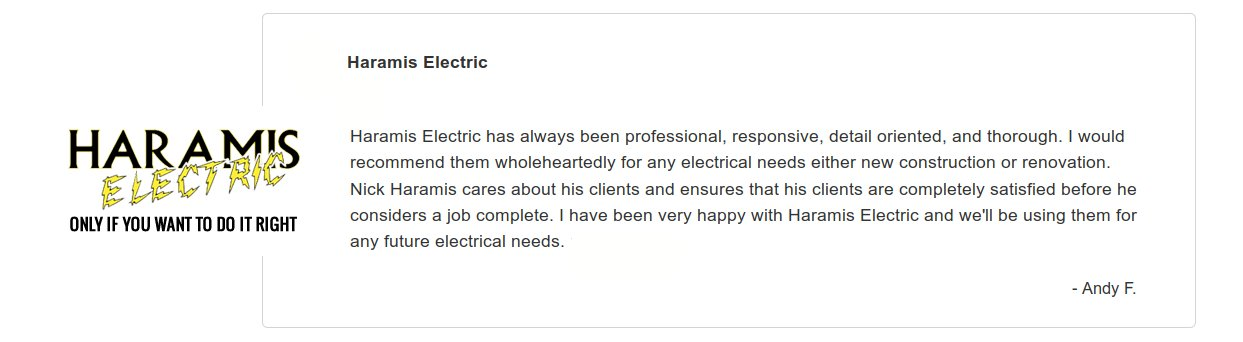 Reviews Electricians Herald Harbor